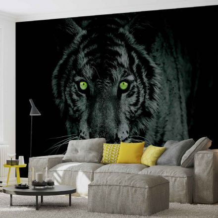 Non-woven wallpaper mural Tiger Animal 153GVEXXL